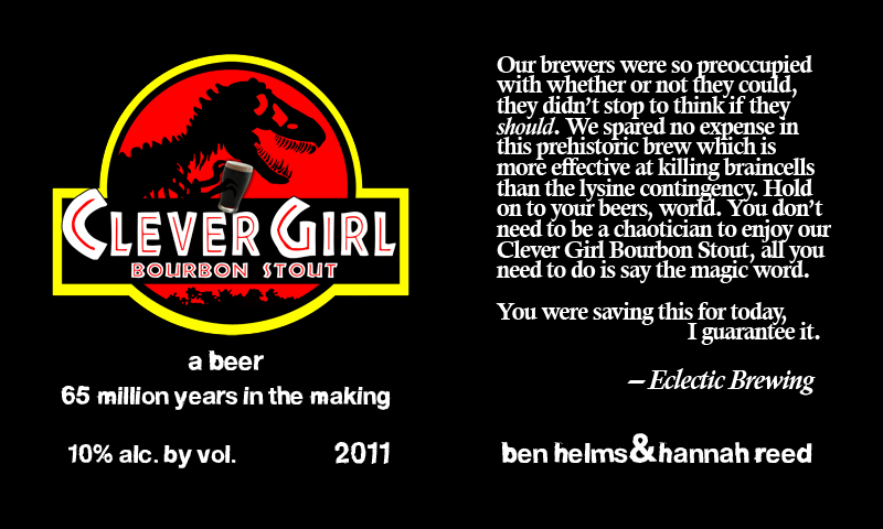 Clever Girl Bourbon Stout